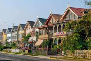 A row of houses in New Jersey.