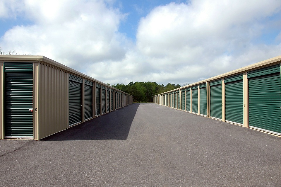 Storage units of movers North Caldwell NJ.