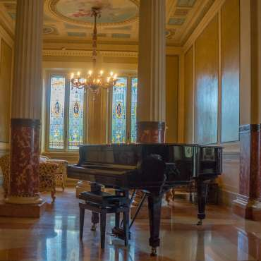 Piano in home
