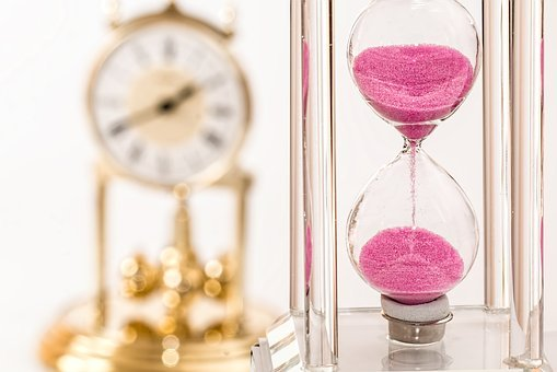 time is ticking fast during short notice move