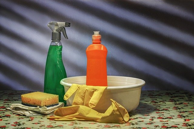 Pack liquids for moving but also consider throwing some of the chemicals away.