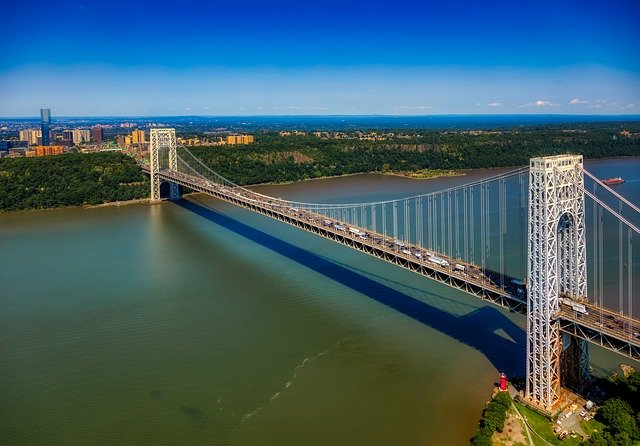 you will cross George Washington bridge with your Palisades park movers