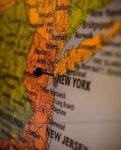 New Jersey map - a tool all movers Dumont NJ have!