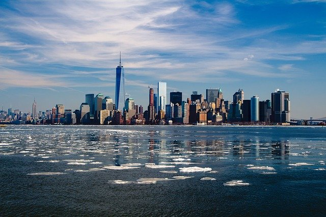 New York skyline after Park Ridge movers help you move
