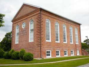 Woodbine Brotherhood Synagogue waits for you after moving with Woodbine movers