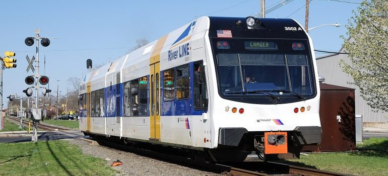 Part of River Line - Riverton movers will not be using the train when moving you