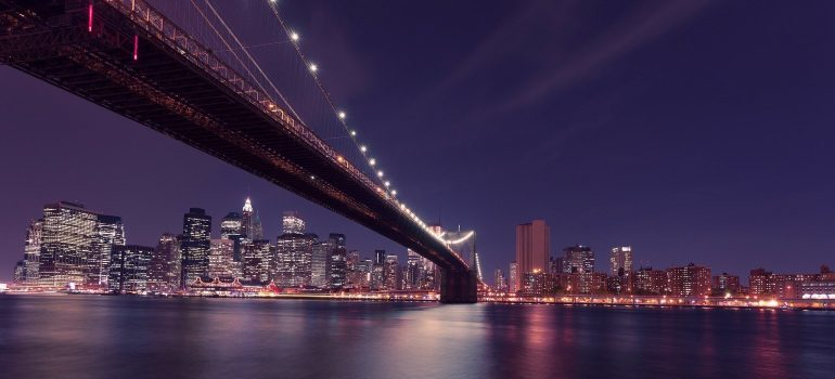 New York City is nearby where Wood-Ridge movers will take you