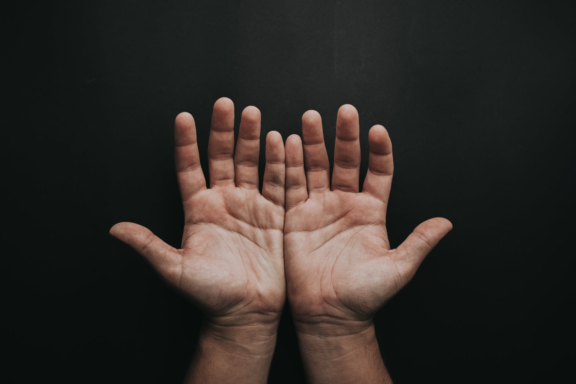 A pair of hands - the only thing you can rely on when facing DIY relocation challenges.