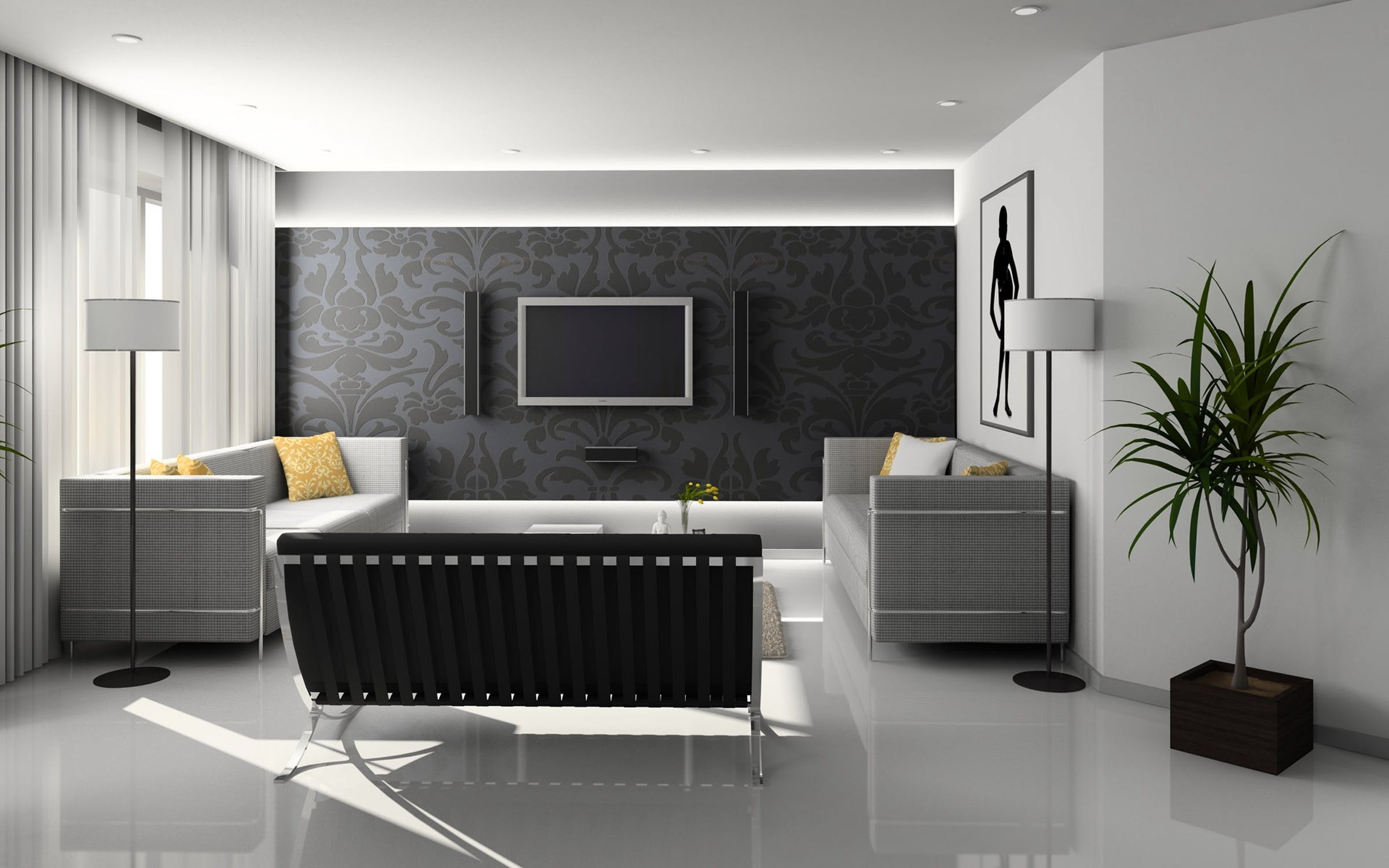 Feel free to choose from a lot of different modern styles to make your home as cosey as possible!