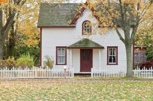 A nice looking house that would make you think about moving to a smaller home