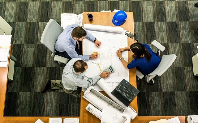 a team planning how to move your office to Cherry Hill