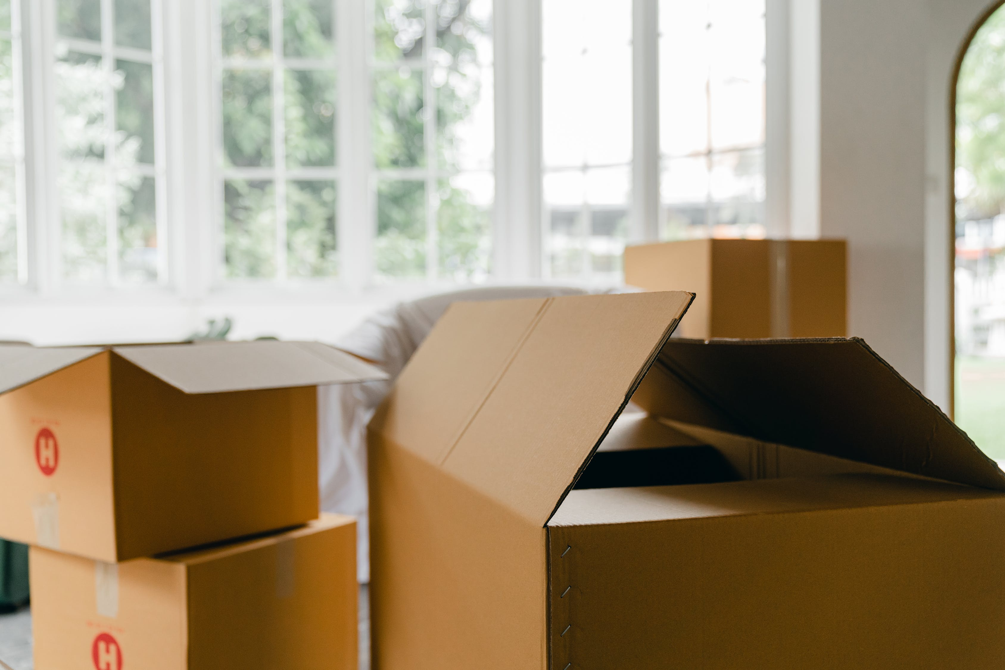 boxes illustrating how many packing supplies do you need