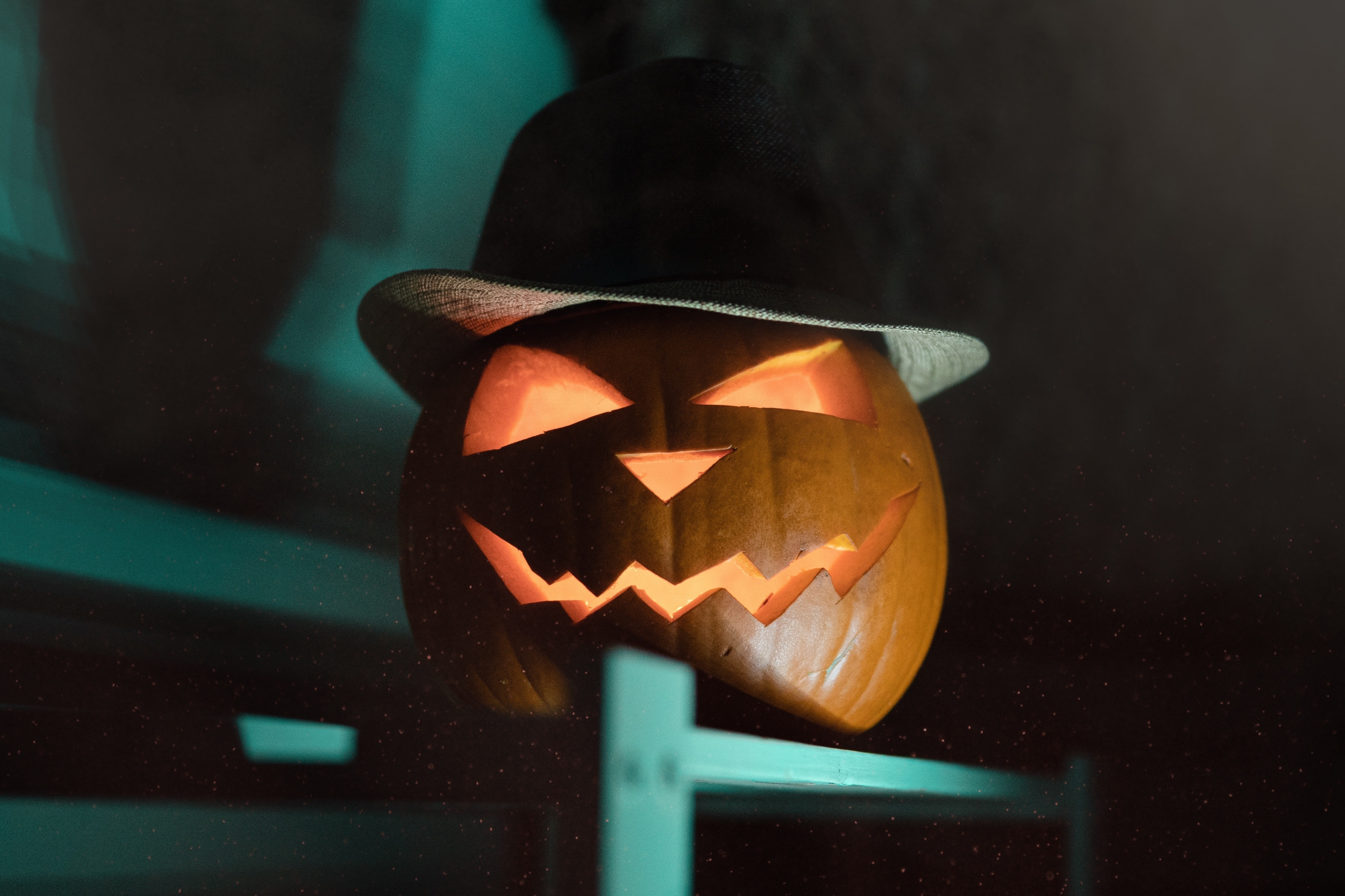 Halloween with creepy pumpkin to decorate your NJ home