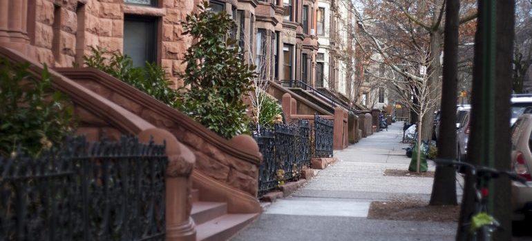 a nice Brooklyn neighborhood