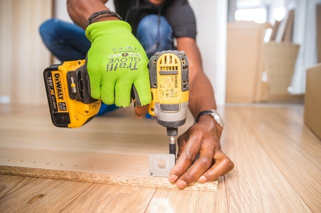 Using power tools for furniture assembly and disassembly when moving to Newark NJ
